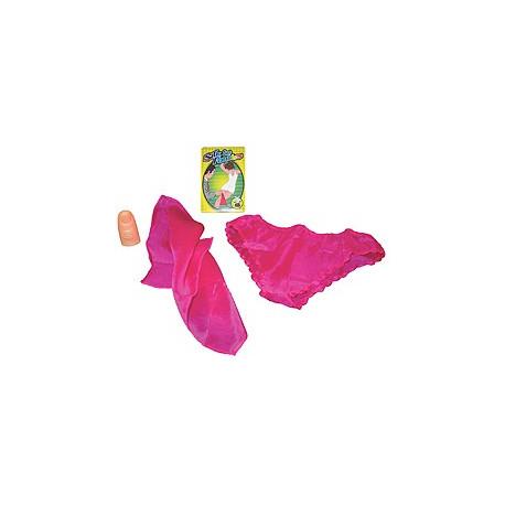 Foulard en culotte rose