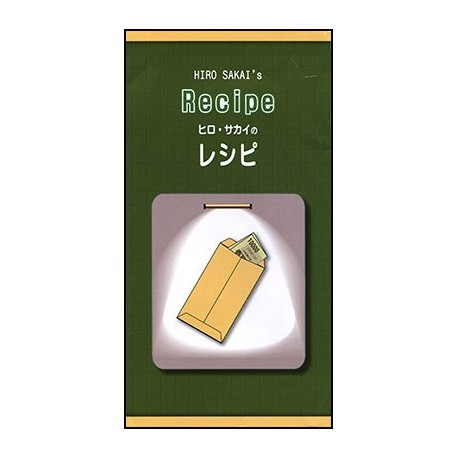 Enveloppes à change - Recipe Hiro Sakai