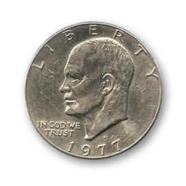 Pièce 1 dollar Eisenhower