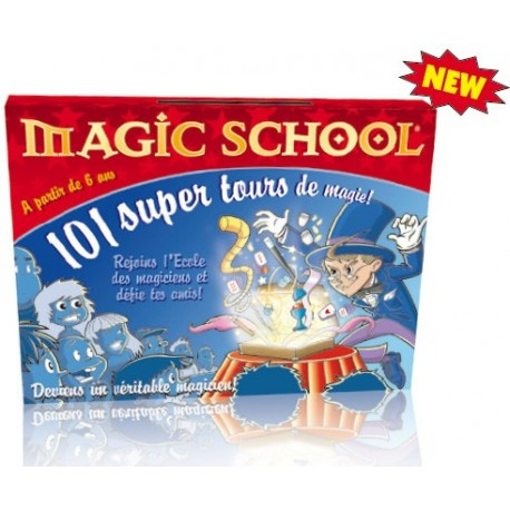 Coffret Magic School Junior 101 tours