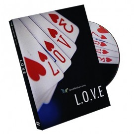 DVD L.O.V.E de SansMinds Magic