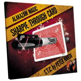 Sharpie Through Card (DVD inclus)