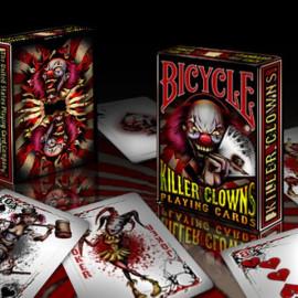 Jeu de cartes Bicycle Killer Clowns