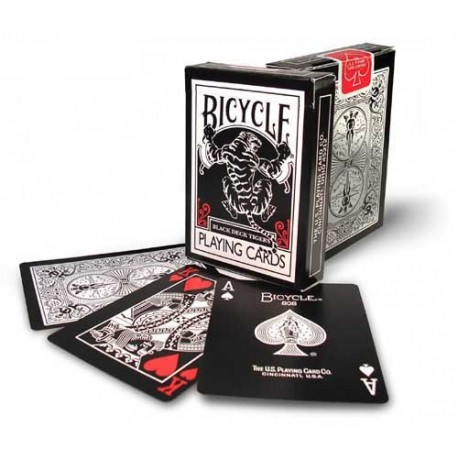 Bicycle Black Tiger Rouge