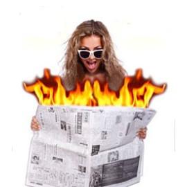 Journal en feu
