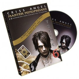 Dvd Master Mindfreaks V.6 de Criss Angel