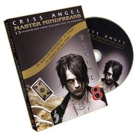 Dvd Master Mindfreaks V.8 de Criss Angel