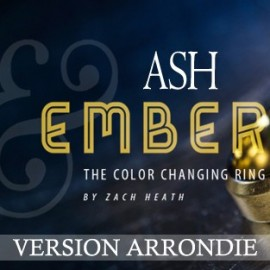 Ash And Ember Arrondie Or et Argent