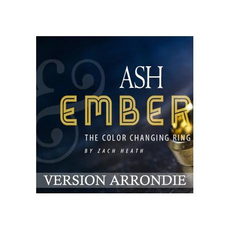 Ash And Ember Arrondie Or et Argent
