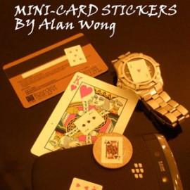 Mini Card Stickers de Alan Wong