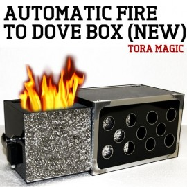 Automatic Fire to Dove Box de Tora Magic