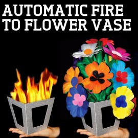 Automatic Fire to Flower Vase de Tora Magic