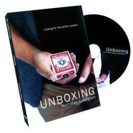 DVD Unboxing de Nicholas Lawrence et SansMinds