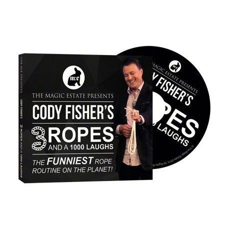DVD 3 Rope and 1000 Laughs de Cody Fisher