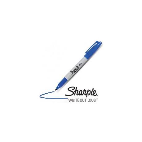Sharpie Bleu pointe fine