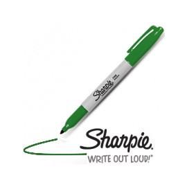 Sharpie Vert pointe fine