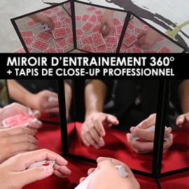 Miroir et tapis de close-up (2 en 1)