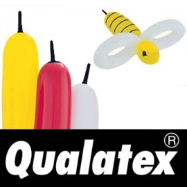 Ballons Qualatex Bee Body Assortiement (x100)