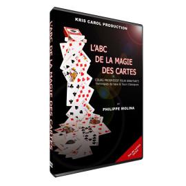 DVD ABC de la magie des Cartes de Philippe Molina