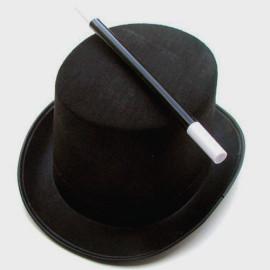 Chapeau de magicien + Baguette Magique