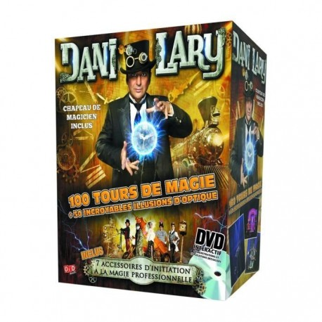 Coffret Dani Lary Retrotemporis (+DVD)