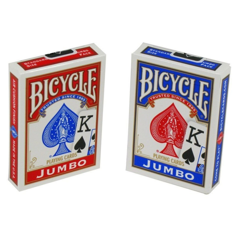 Carte poker jumbo index