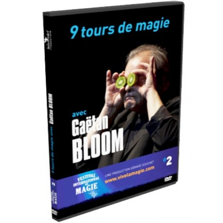 DVD 9 tours de magie de Gaetan Bloom