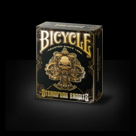 Bicycle Steampunk Bandit Deck noir