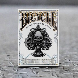 Bicycle Steampunk Bandit Deck (Blanc)