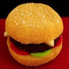 Hamburger en mousse