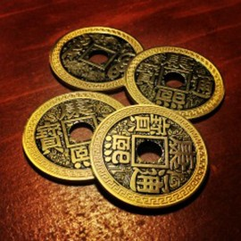 Set de pièces chinoises taille ½$