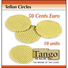 Téflon Anti-bruit Taille 50 centimes d'euro (x10)