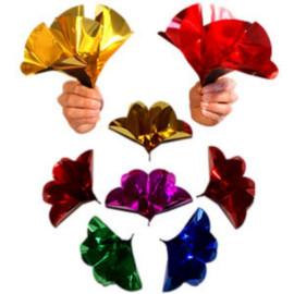 Fleurs métalliques Jumbo (x6)