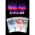 Billets Flash (euros) - Par 10