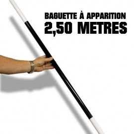 Apparition d'une Baguette Géante (2,5 Mètres)