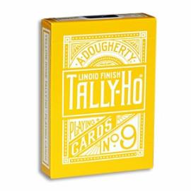 Tally Ho Reverse Fan Back - Jaune