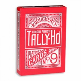 Tally Ho Reverse Fan Back - Rouge