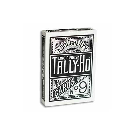 Tally Ho Reverse Fan Back - Blanc