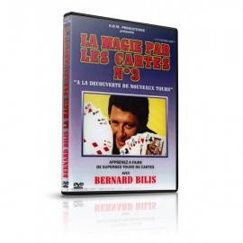 DVD La magie par les Cartes v3 de Bernard Bilis