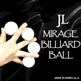 Mirage Billiards Balls (Blanc)