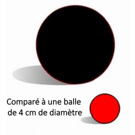 Balle mousse Jumbo (noire) - 4 inch