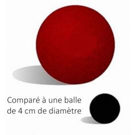 Balle mousse Jumbo (rouge)