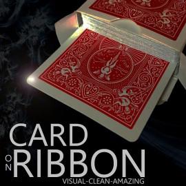 Card on Ribbon