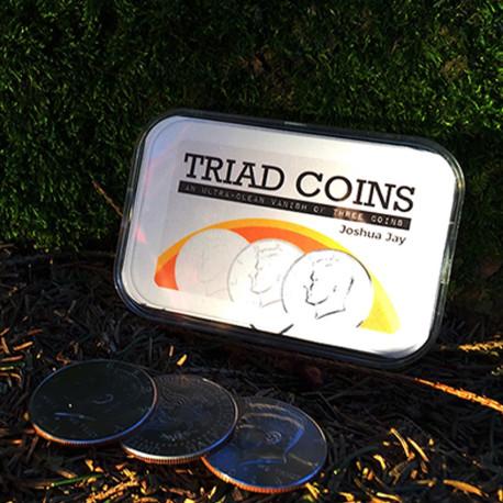 Triad Coins Euro de Joshua Jay