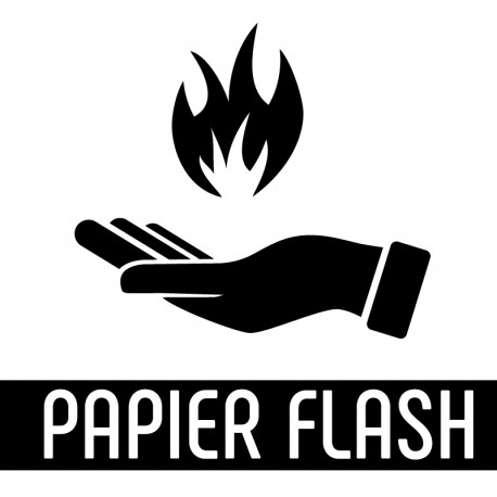 Papier Flash Magie