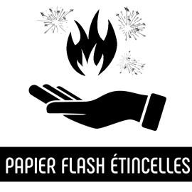 Papier Flash Étincelles (x10 feuilles)