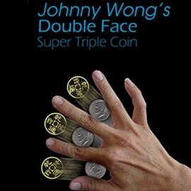 Double Face Super Triple Coin (Eisenhower Dollar)