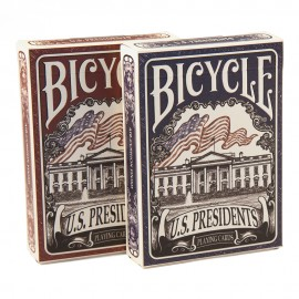 Bicycle US Presidents (rouge)