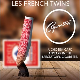 Cigarettes des French Twins - Cards
