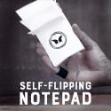 Self-Flipping Notepad
